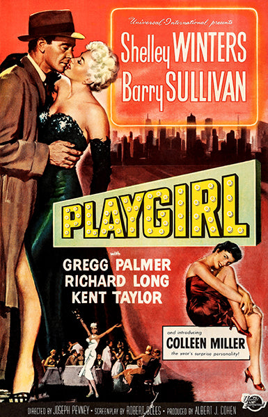 Playgirl - 1954 - Movie Poster