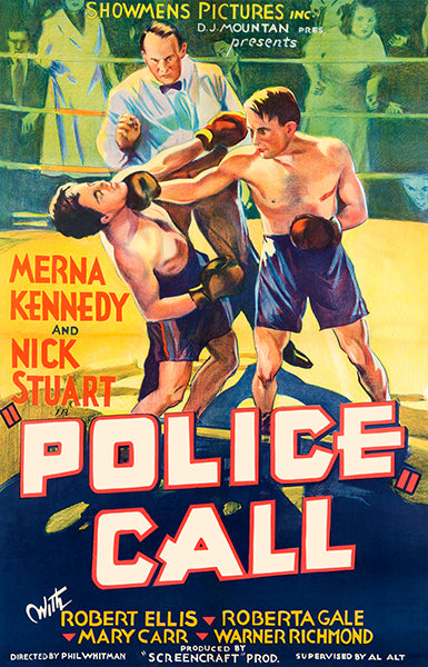 Police Call - 1933 - Movie Poster