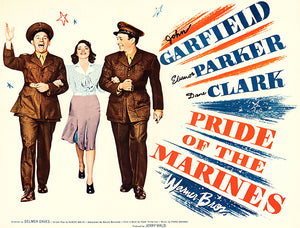 Pride Of The Marines - 1945 - Movie Poster Magnet