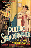 Public Stenographer - 1934 - Movie Poster