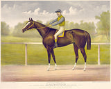 Racing King Salvator - Mile Record 1:35 - 1891 - Horse Racing Poster