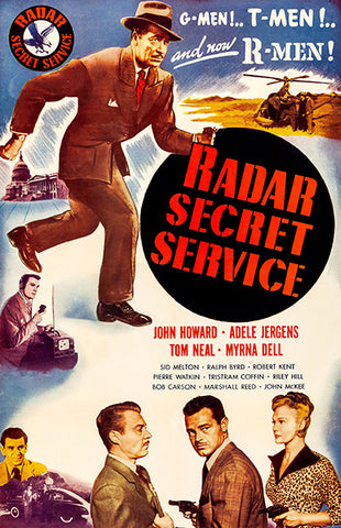 Radar Secret Service - 1950 - Movie Poster