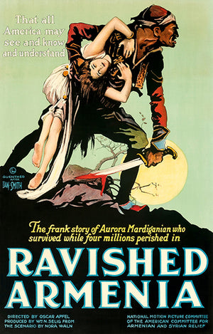 Ravished Armenia - 1919 - Movie Poster Magnet