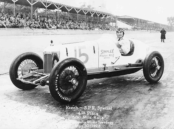 Ray Keech - Indy 500 - SPR Special - 1928 - Photo Poster Mug