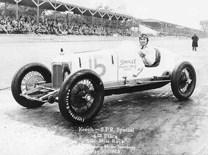 Ray Keech - Indy 500 - SPR Special - 1928 - Photo Poster Magnet