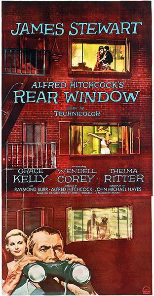 Rear Window - 1954 - Movie Poster
