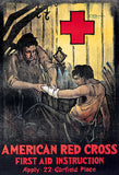 Red Cross - First Aid Instruction - 1920 - Propaganda Poster