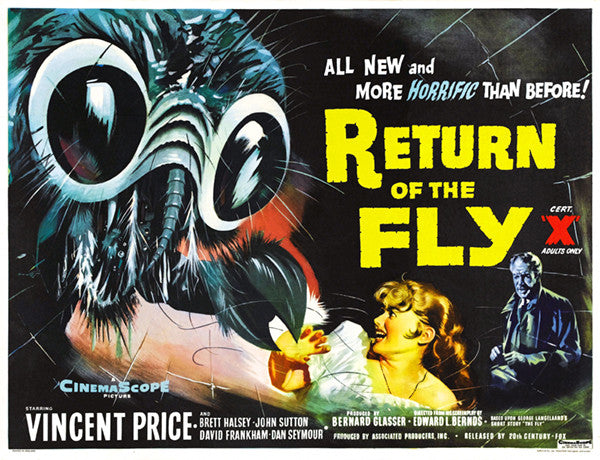 Return Of The Fly - 1959 - Movie Poster