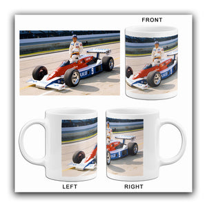 Rick Mears - Indy 500 - Norton - 1979 - Photo Mug