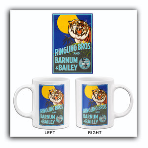 Ringling Bros & Barnum & Bailey Circus - 1942 - Promotional Advertising Mug