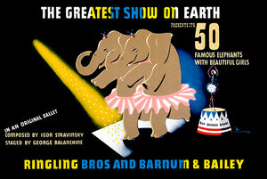 Ringling Bros & Barnum & Bailey Circus #2 - 1942 - Promotional Advertising Poster