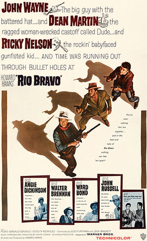 Rio Bravo - 1959 - Movie Poster Magnet