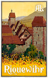 Riquewihr - France - 1920's - Travel Poster