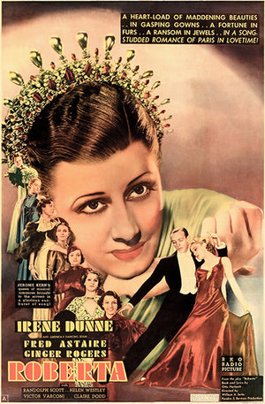Roberta - 1935 - Movie Poster Magnet