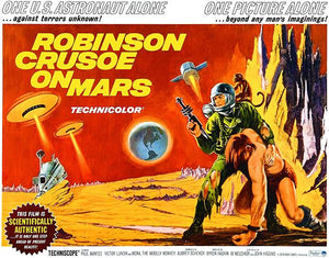 Robinson Crusoe On Mars - 1964 - Movie Poster Magnet