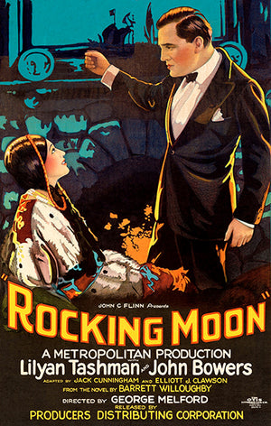 Rocking Moon - 1926 - Movie Poster Magnet