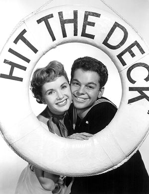 Russ Tamblyn - Debbie Reynolds - Hit The Deck - Movie Still Poster