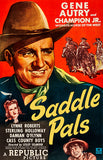 Saddle Pals - 1947 - Movie Poster Magnet