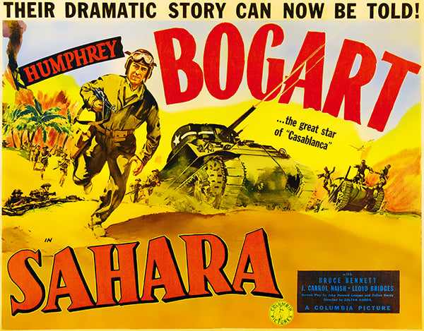 Sahara - 1943 - Movie Poster