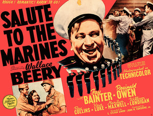 Salute To The Marines - 1943 - Movie Poster