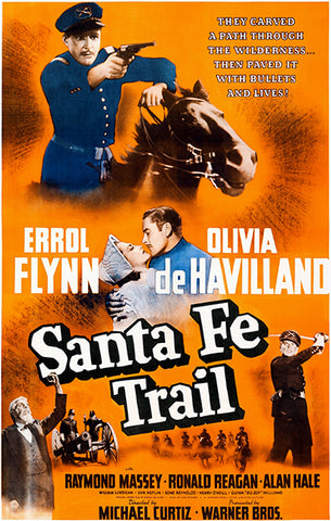 Santa Fe Trail - 1940 - Movie Poster