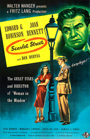 Scarlet Street - 1945 - Movie Poster