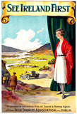 See Ireland First - 1930's - Travel Poster