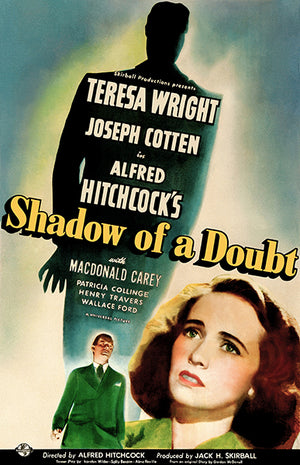 Shadow Of A Doubt - 1943 - Movie Poster