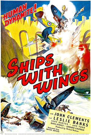 Ships With Wings - 1941 - Movie Poster