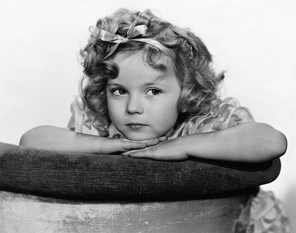 Shirley Temple - Little Miss Marker - Movie Still Poster