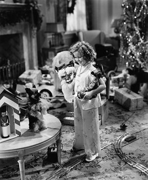 Shirley Temple - Stowaway - Movie Still Poster