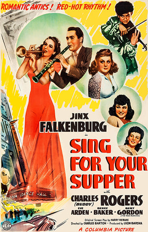 Sing For Your Supper - 1941 - Movie Poster