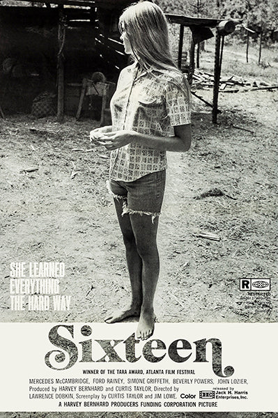 Sixteen - 1973 - Movie Poster