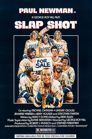 Slap Shot - 1977 - Movie Poster