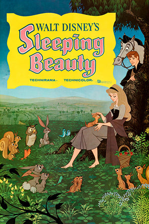 Sleeping Beauty - 1959 - Movie Poster Magnet