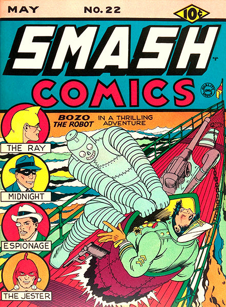Smash Comics #22 - May 1941 - Comic Book Cover Magnet