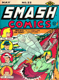 Smash Comics #22 - May 1941 - Comic Book Cover Poster