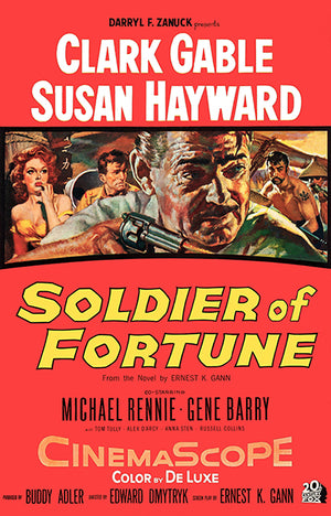 Soldier Of Fortune - 1955 - Movie Poster