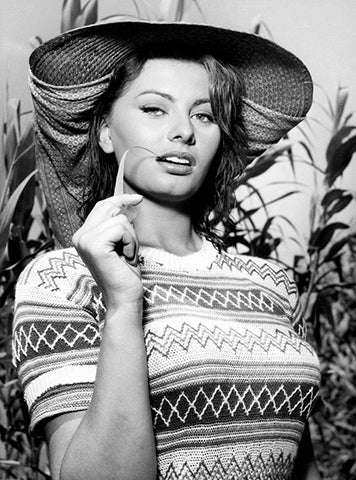 Sophia Loren - Woman Of The River - Movie Still Poster