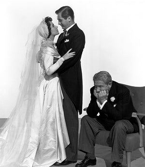 Spencer Tracy - Elizabeth Taylor - Don Taylor - Father Of The Bride - Movie Still Poster