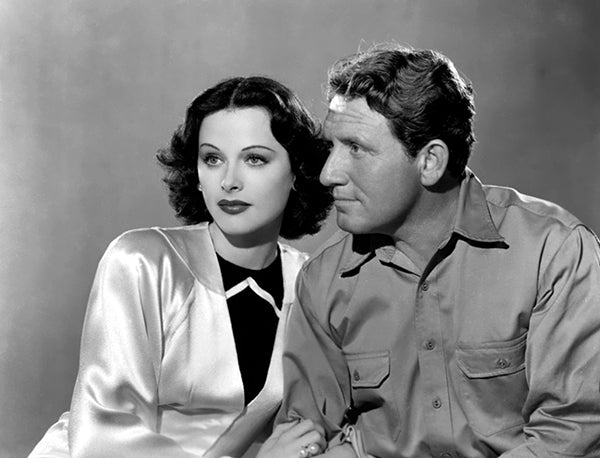 Spencer Tracy - Hedy Lamarr - Boom Town - Movie Still Poster