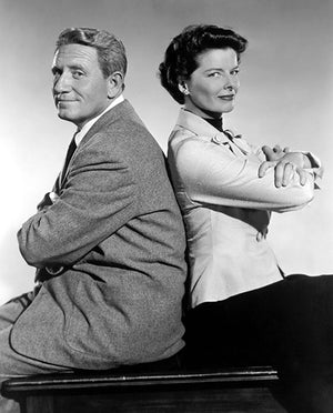 Spencer Tracy - Katharine Hepburn - Adam's Rib - Movie Still Poster