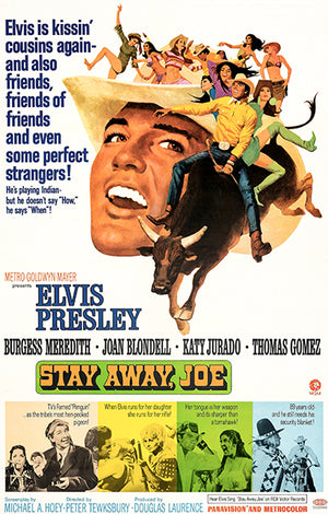 Stay Away, Joe - 1968 - Movie Poster Magnet