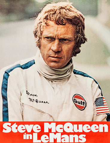 Steve McQueen In LeMans - 1971 - Movie Promo Poster