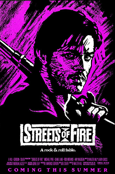 Streets Of Fire - 1984 - Movie Poster Magnet