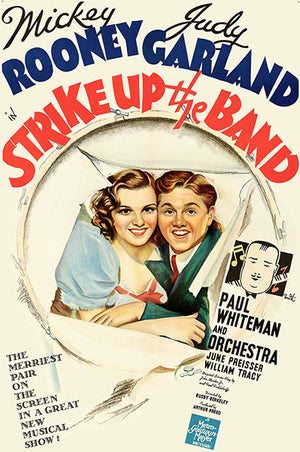 Strike Up The Band - 1940 - Movie Poster