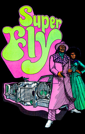 Super Fly - 1972 - POP Art Poster