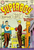 Superboy #60 - October 1957 - Comic Book Cover Poster