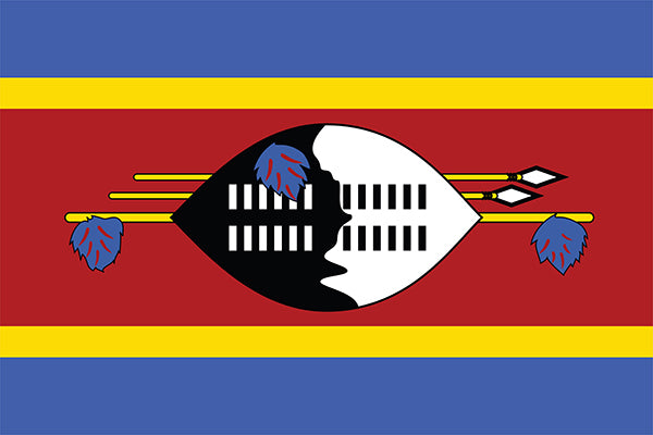 Swaziland Flag Poster