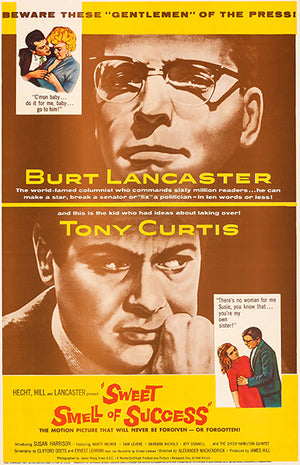 Sweet Smell Of Success - 1957 - Movie Poster Magnet